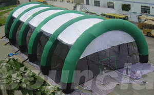 Airtight Inflatable Paintball Arena With Durable Nylon For Commercial Use
