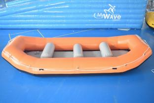 6 Person PVC Tarpaulin River Rafting Boat , Outdoor Inflatable Raft Boat