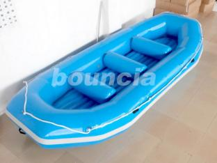 Blue Color Inflatable Rafting Boat For Water Games