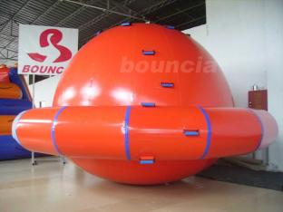 Commercial Grade PVC Tarpaulin Inflatable Orbit Saturn For Lake