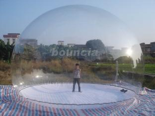 4.5m High Clear Giant Inflatable Show Ball , Inflatable Snow Globe For Promotion Or Exhibition