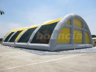 0.9mm PVC Tarpaulin Airtight Inflatable Paintball Tent  With CE Certificate