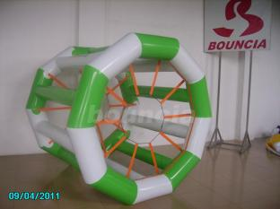 Colorful Inflatable Water Roller With Durable Soft Handles