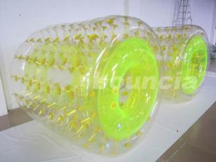 0.8mm PVC Shinning Inflatable Roller Ball For Kids