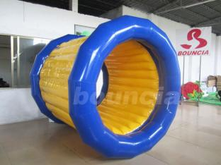 Floating Inflatable Water Roller With Soft Handles For Lake