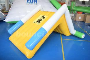 Bright Color Mini Inflatable Water Slide For Family Pool