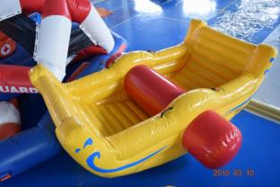 Commercial Grade Inflatable Water Totter For Swimming Pool / Lake