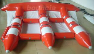 3.9m Width Inflatable Towable Fly Fish For Commercial Use