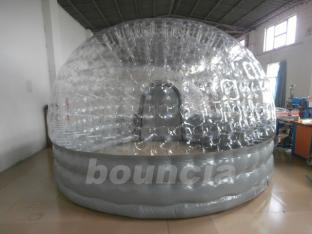 4m Diameter Inflatable Air Tight Promotion Bubble Tent For Trade Show