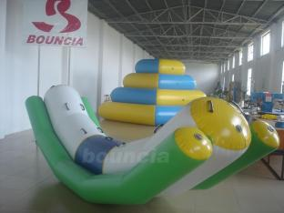 4m Long Inflatable Water Totter For 6 Person