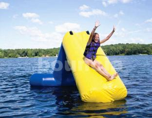 Kids And Adults Inflatable Water Slide For Lake