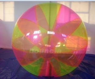 Colorful Inflatable Water Ball , Inflatable Water Bubble For Seaside