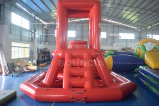 0.9mm PVC Tarpaulin Inflatable Lifeguard Tower For Water Park