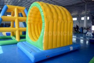 Pool Inflatable Water Park Tunnel For Sale