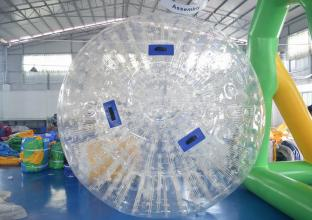 2-3 Diameter Grass Inflatable Zorb Ball With 1.0mm TPU