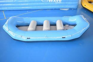 Durable PVC Inflatable Rafting Boat , Whitewater Raft For Adventure Game