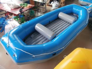 Blue Color 4 Person White Water Raft For River