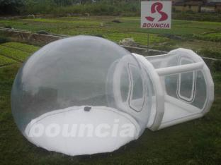 0.5mm PVC Inflatable Show Ball With 0.6mm PVC Tarpaulin Base And Tunnel
