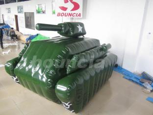 Inflatable Military Tank For Paintball Sports