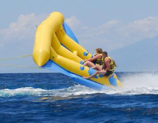 Towable Inflatable Flying Fish Tube For Lake Or Sea