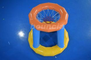 Water Toy Basketball Goal / Airtight Inflatable Water Court For Summer