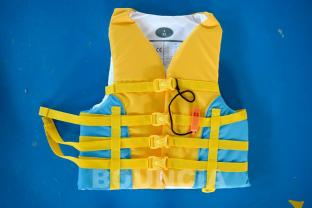 Water Park Life Jacket / Life Vest Made Of PVC Foam For Sea