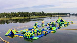 Milano Giant Inflatable Sea Water Park / Fun Aquapark Manufacturer