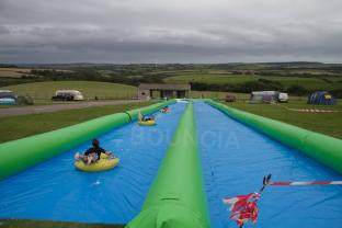 328ft Inflatable Slip N Slide Inflatable Slide the City With Pool