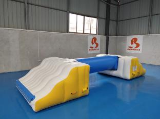0.9mm PVC Tarpaulin Floating Inflatable Water Games Manufacturer