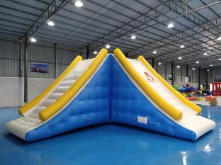 Exciting Inflatable Water Park Games Inflatable Slide Tower For Sale